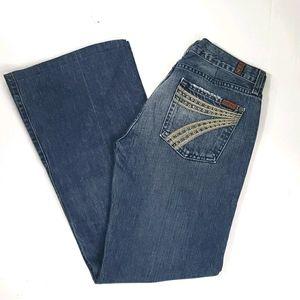 7 for all mankind DOJO jeans size 29 / 30 inseam